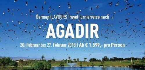 Turnierreise nach Agadir